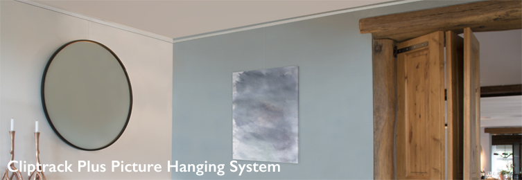 Shades Cliptrack Plus picture hanging system