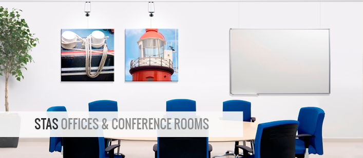 picture hanging offices & Conference rooms