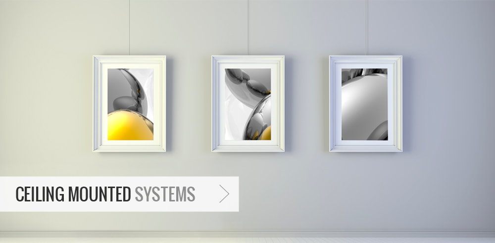 Ceiling Mounted Systems - Picture Hanging