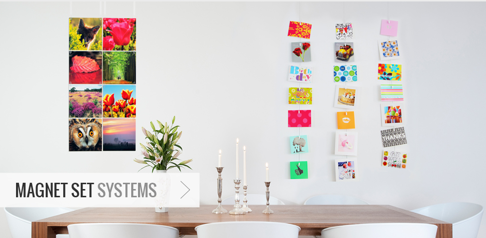 Magnet Set Systems - Picture Hanging